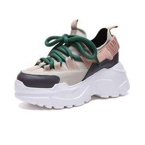 Bran new/never worn BASSO platform sneakers 😍